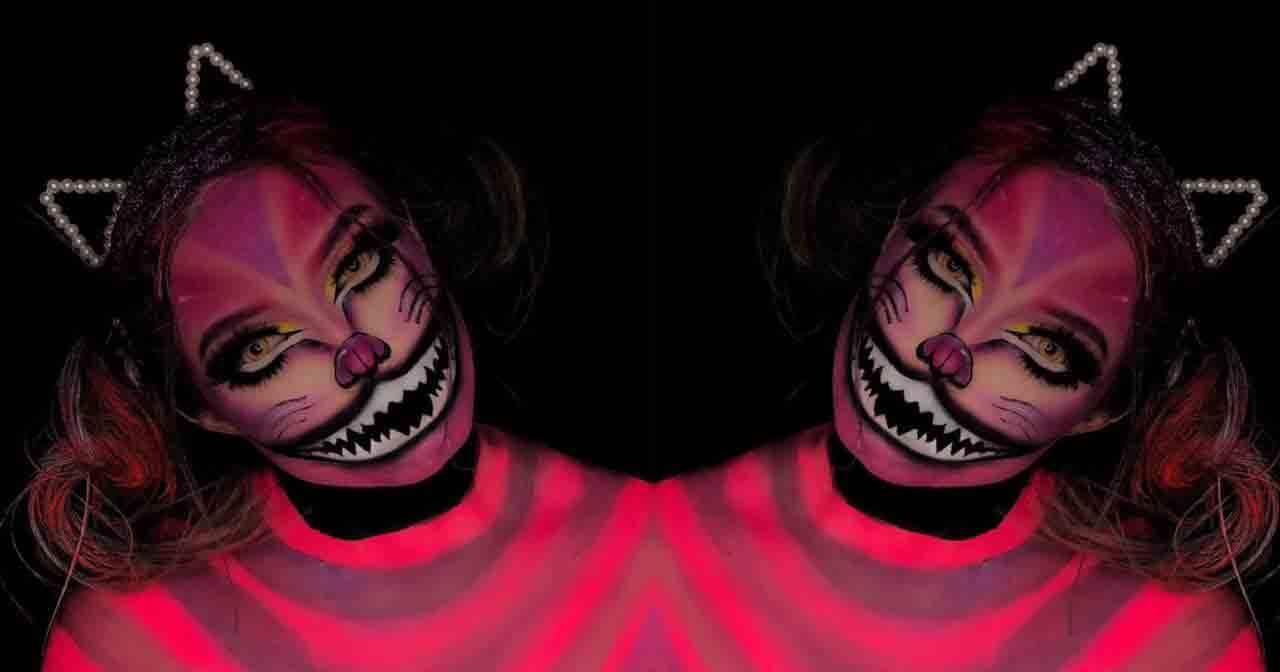 Referência nacional em maquiagem, influenciadora Yone Leão faz sucesso no Instagram criando artes em rostos. Foto: Divulgação