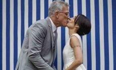 Pedro Bial e Maria Prata celebram seis anos juntos: 'amor e mais amor'