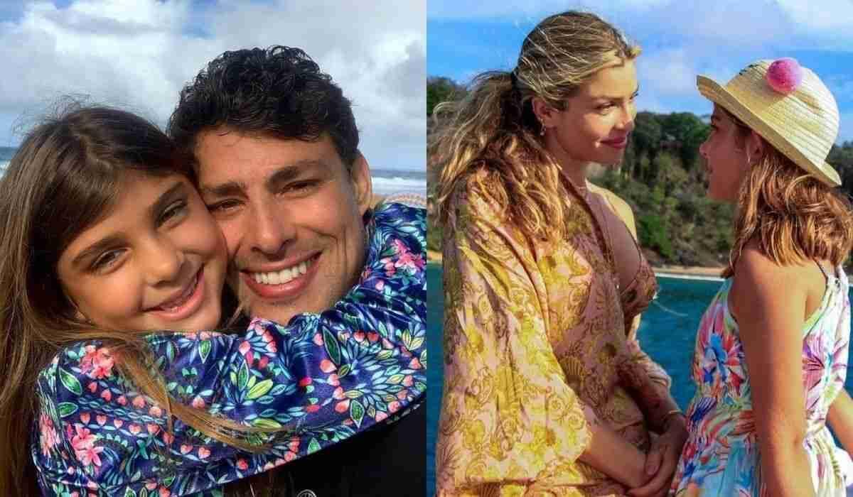 Cauã Reymond e Grazi Massafera celebram aniversário da filha