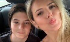 Mari Alexandre posta vídeo da primeira comunhão de Záion, filho dela com Fábio Jr. Foto: reprodução Instagram