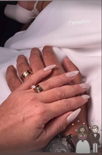 Vivane Araújo casa com Guilherme Militão: 'amor cresce a cada instante' (Foto: Reprodução/Instagram)