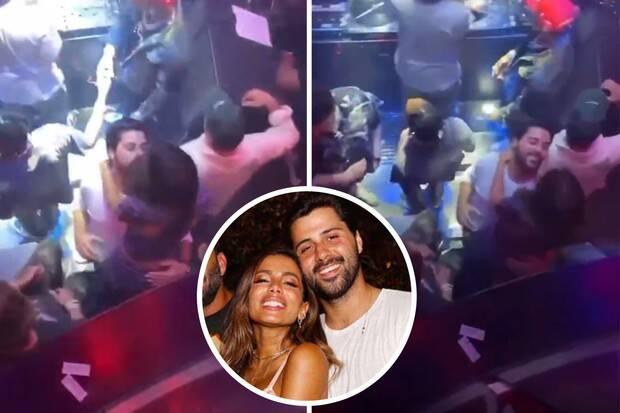 Anitta é flagrada beijando novo affair durante festa em Miami (Foto: Reprodução/Instagram)
