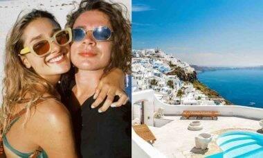 Sasha Meneghel e noivo pretendem passar a lua de mel nas Ilhas Gregas