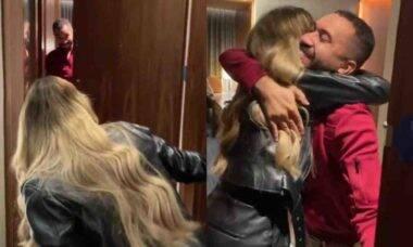 Sarah e Gil se reencontram após o BBB 21: 'te amo meu menino'