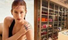 Marina Ruy Barbosa exibe clique de seu closet com peças de grife