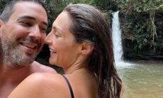 André Marques se declara para namorada: 'amiga, namorada e parceira'