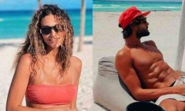 Débora Nascimento posta clique do namorado em viagem no México