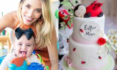 Carol Dias celebra 7 meses da filha Esther com festa tema de joaninha