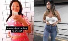 Filha de Simony ironiza rejeição amorosa após perder 35kg: 'agora chora'