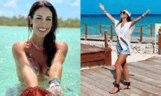 Bella Falconi celebra 36 anos na República Dominicana: 'gratidão'