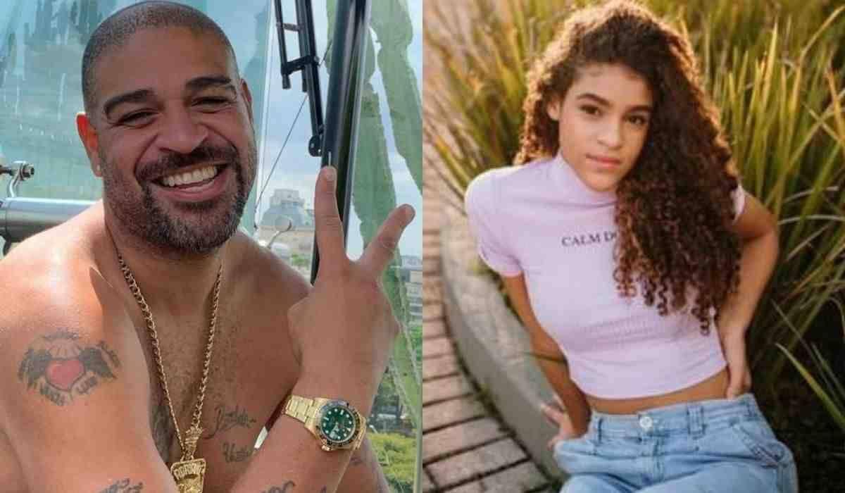 Adriano posta foto da filha e impressiona fãs: 'a cara do Imperador'