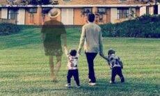 Montagem de Paulo Gustavo com a família emociona a web
