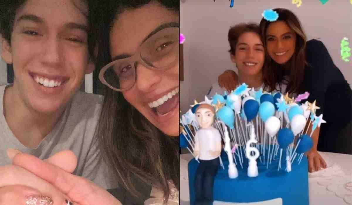Giovanna Antonelli celebra aniversário do filho: 'o cara mais incrível'