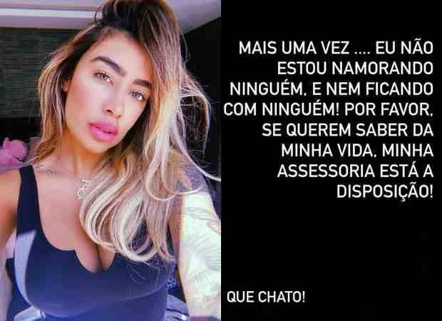 Rafaella Santos nega affair após comentário de Rodolffo: 'que chato' (Foto: Reprodução/Instagram)