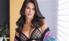 Andressa Suita posa com body ousado em look avaliado em R$ 15 mil