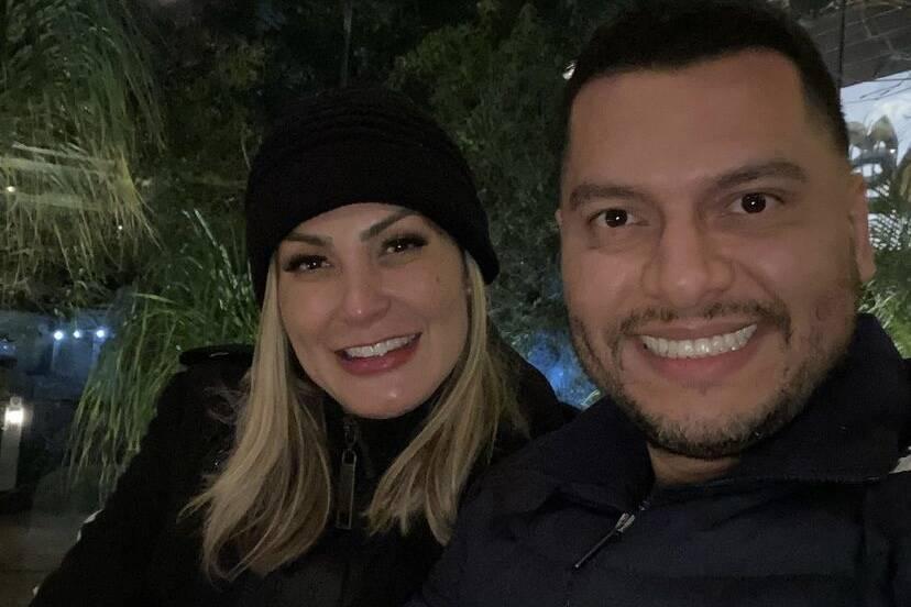 """Andressa Urach celebra aniversário de casamento: """"6 meses de amor"""""""