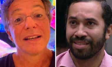 """Boninho faz homenagem para Gil após eliminação do BBB 21: """"A gente te ama"""""""