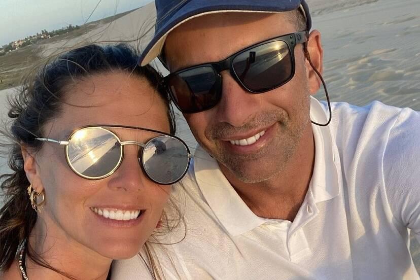 """Daniella Sarahyba se declara para o marido no aniversário: """"Que sorte a minha"""""""
