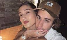 """Hailey Bieber fala sobre casamento com Justin Bieber: """"Construindo uma vida linda juntos"""""""