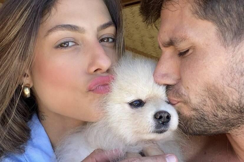 Cachorro de Mari Gonzalez e Jonas Sulzbach morre após ataque de rottweiler