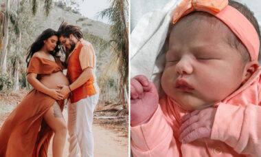 """Sobrinha de Chay Suede nasce em casa: """"Não deu tempo de chegar no hospital"""""""
