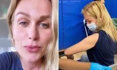 """Ludmila Dayer toma segunda dose da vacina nos EUA e se emociona: """"Luz no fim do túnel"""""""