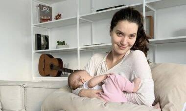 """Nathalia Dill desabafa sobre dificuldades do pós-parto: """"Mil coisas que você tem que pensar"""""""