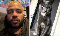 """Projota lamenta morte de seu gatinho, Chuck: """"Vou sentir saudade"""""""