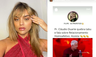 Rafa Kalimann posta pedido de desculpas após compartilhar vídeo lgbtfóbico