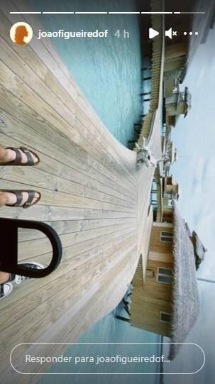Sasha e João Figueiredo viajam de lua de mel para Maldivas: 'um sonho' (Foto: Reprodução/Instagram)