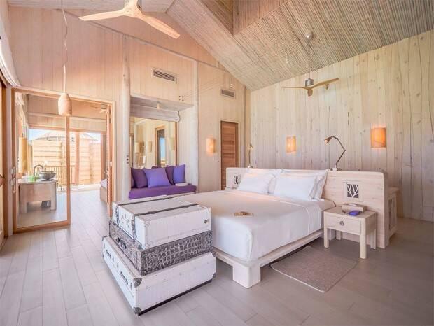 Sasha e marido curtem lua de mel nas Maldivas em resort com diárias de até R$ 106,9 mil (Foto: Reprodução/SiteOficial)