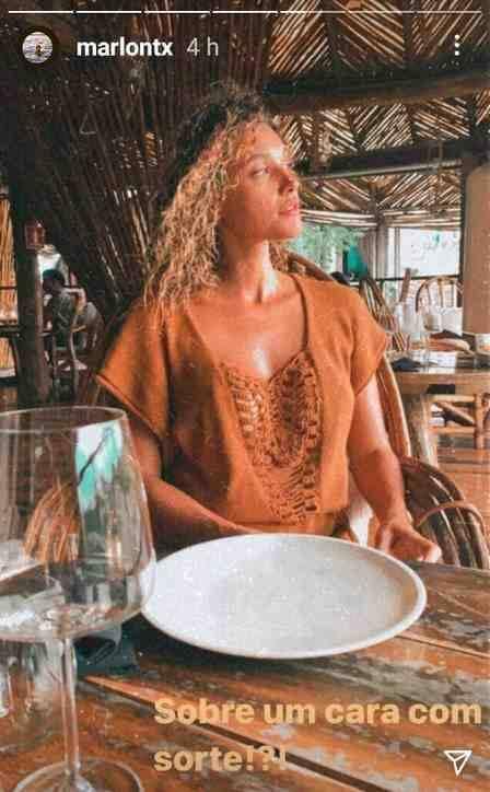 Débora Nascimento curte com o namorado em resort de luxo no México (Foto: Reprodução/Instagram)