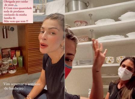 Grazi Massafera deixa apartamento e se muda para mansão no Rio (Foto: Reprodução/Instagram)