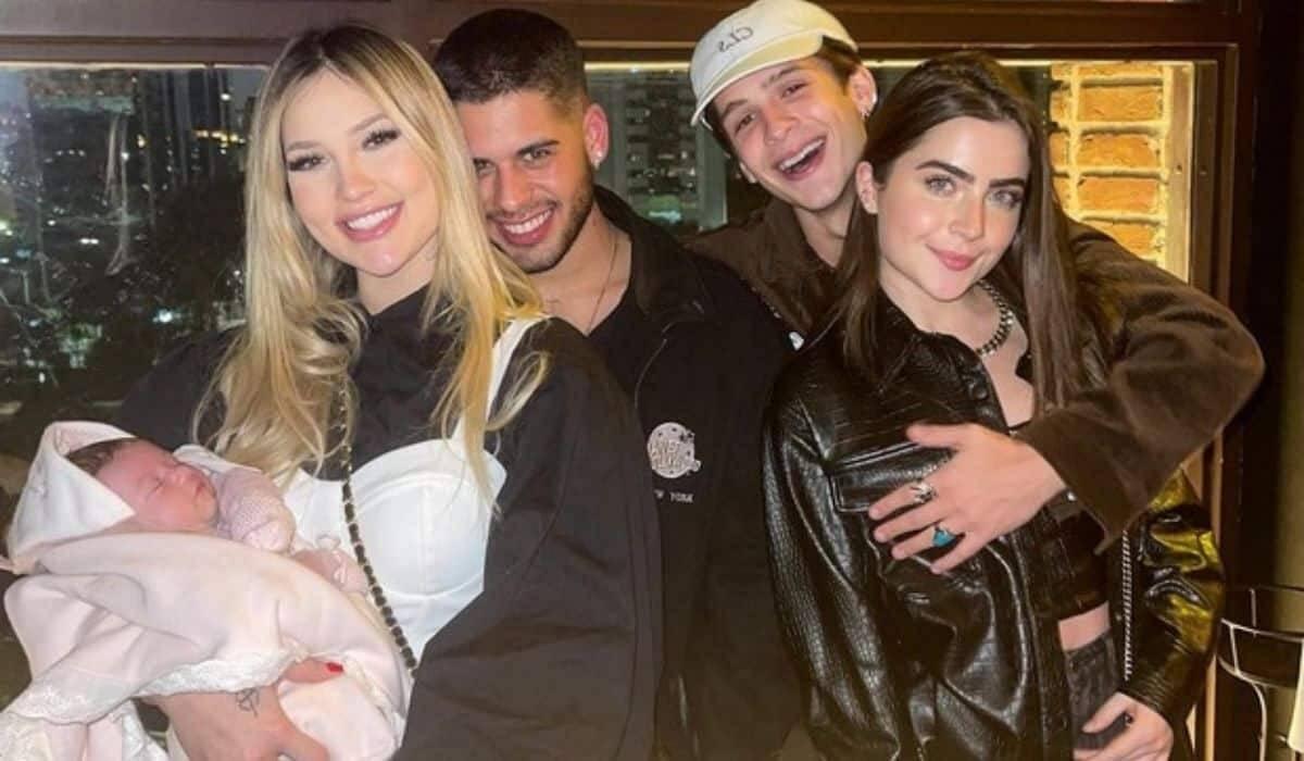 Irmãos, Zé Felipe e João Guilherme têm 'noite especial' em família