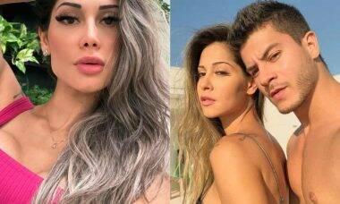 Mayra Cardi revela ainda ter sentimentos por Arthur Aguiar: 'sigo amando'