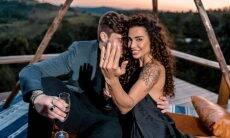 Paula Amorim e Breno Simões ficam noivos: 'eu diria sim mil vezes'