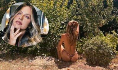 Giovanna Ewbank faz topless curtindo dia de sol: 'meu verão europeu'