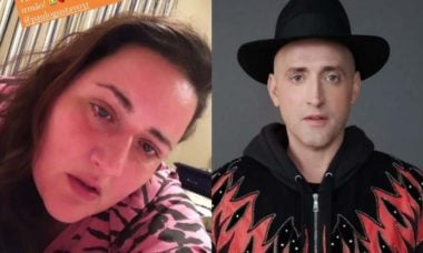 Irmã de Paulo Gustavo posta foto chorando e desabafa: 'bizarro sem você'