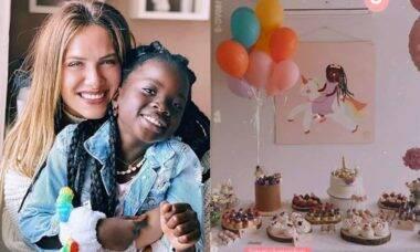 Giovanna Ewbank celebra aniversário da filha, Titi: 'minha princesa'