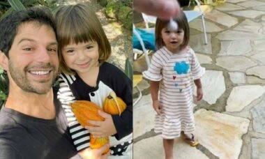 Duda Nagle posta momento fofo com a filha Zoe: 'brincando com estalinho'