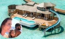 Deborah Secco se hospeda em resort de até R$ 46,9 mil nas Mald