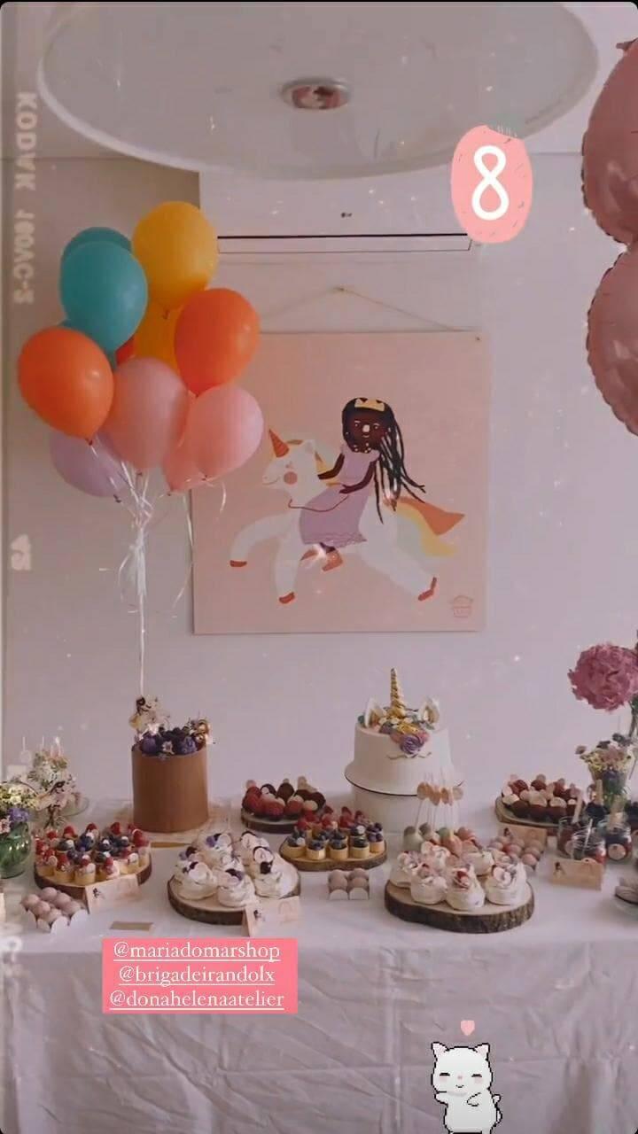 Giovanna Ewbank celebra aniversário da filha, Titi: 'minha princesa' (Foto: Reprodução/Instagram)