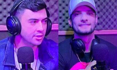 Influenciador Raphael Carpejane e Dj Cerutti participam de Podcast da SR Music Produtora de Porto Ferreira . Foto: Divulgação