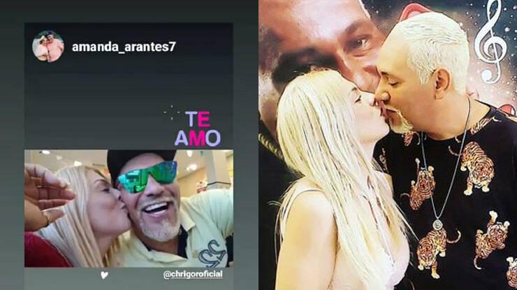 Ex-cantor do Exaltasamba assume namoro com fã: 'me apaixonei' (Foto: Reprodução/Instagram)