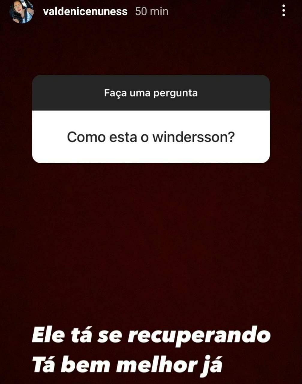 Mãe do Whindersson fala do comediante após morte de bebê: 'se recuperando' (Foto: Reprodução/Instagram)