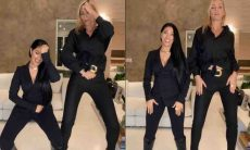Ana Hickmann e Simaria fazem vídeo dançando juntas: 'irmãs gêmeas'