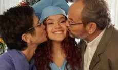 Sandra Annenberg e Ernesto Paglia celebram formatura da filha: 'orgulho'