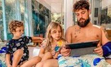 Mari Bridi exibe Rafael Cardoso já em casa após cirurgia no coração