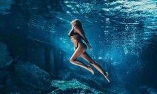 Yasmin Brunet enfatiza 'Dia Mundial dos Oceanos' em foto de mergulho