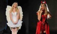 Viih Tube se veste de anjo e diabo nos bastidores de um ensaio fotográfico